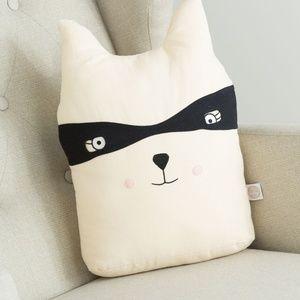 NWT Peek a Boo Raccoon Pillow